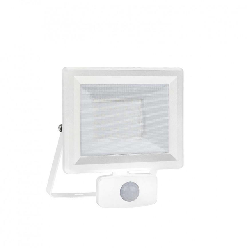 Proiector LED exterior cu senzor de miscare IP65 FLOOD SENSOR 30W WH, Proiectoare LED exterior⭐ iluminat arhitectural ambiental pentru fatade cladiri si casa.✅Design decorativ ornamental 2021!❤️Promotii lampi❗ Magazin➽www.evalight.ro. Alege oferte la corpuri de iluminat tip proiector cu reflector si senzor de miscare, sisteme de mare putere cu panou solar cu LED-uri, aplice, spoturi aplicate de perete sau tavan, stalpi si tarusi, profesionale de calitate la cel mai bun pret. a