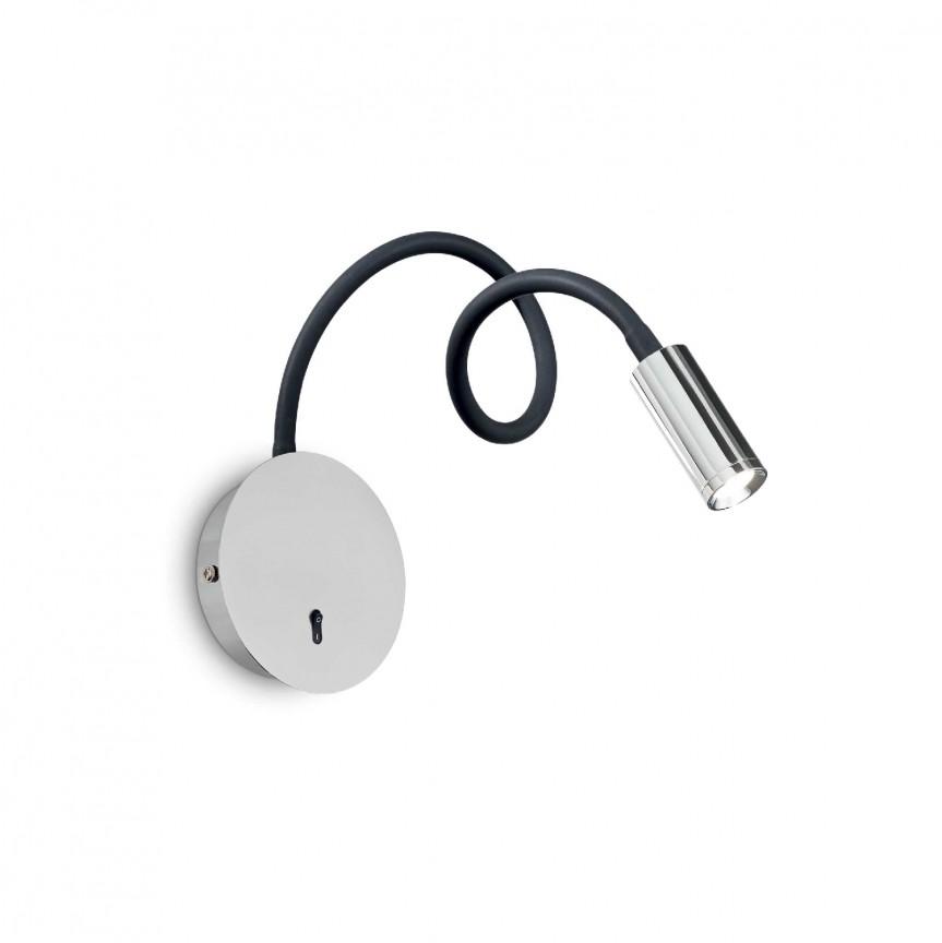 Aplica LED minimalista cu brat orientabil FOCUS-2 AP CROMO, Cele mai noi produse 2021 a