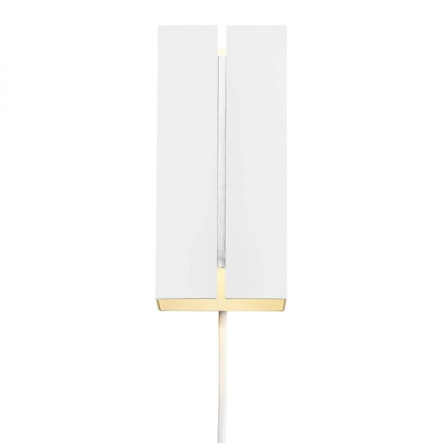 Aplica LED de perete design modern CURTIZ alb 2110551001 NL, Cele mai noi produse 2021 a