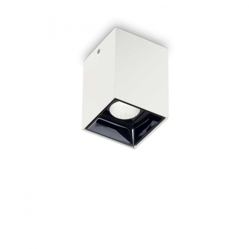 Spot LED aplicat modern NITRO 10W SQUARE BIANCO, Spoturi aplicate tavan / perete, mobila, LED⭐modele moderne pentru living,dormitor,bucatarie,baie,hol.✅Design decorativ 2021!❤️Promotii lampi❗ ➽ www.evalight.ro. Alege oferte la colectile NOI de corpuri de iluminat interior de tip spot-uri aparente cu LED, (rotunde si patrate), ieftine de calitate la cel mai bun pret. a