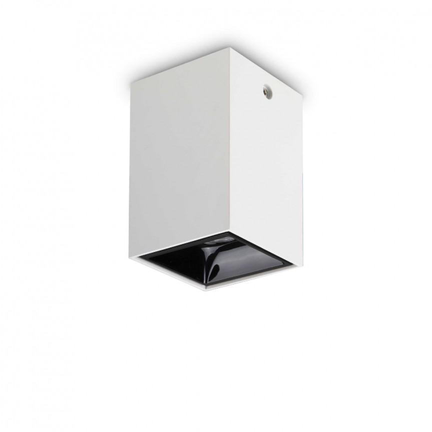 Spot LED aplicat modern NITRO 15W SQUARE BIANCO, Spoturi aplicate tavan / perete, mobila, LED⭐modele moderne pentru living,dormitor,bucatarie,baie,hol.✅Design decorativ 2021!❤️Promotii lampi❗ ➽ www.evalight.ro. Alege oferte la colectile NOI de corpuri de iluminat interior de tip spot-uri aparente cu LED, (rotunde si patrate), ieftine de calitate la cel mai bun pret. a
