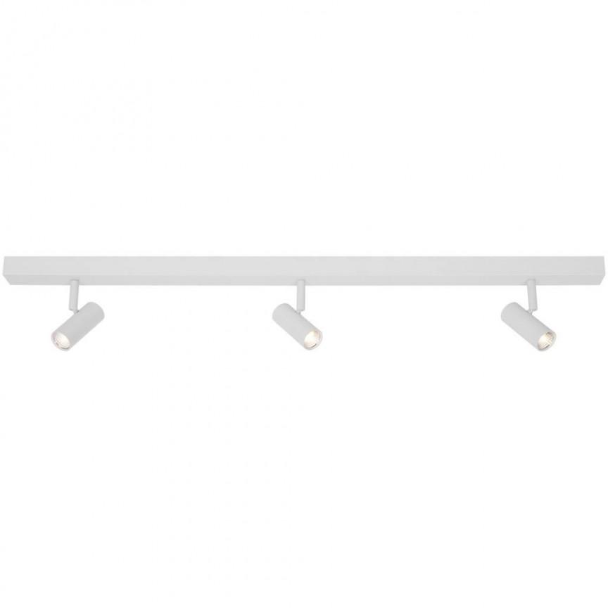 Lustra liniara cu 3 spoturi LED, 3-Step MOODMAKER Omari alb 2112193001 NL, Plafoniere cu spoturi, LED⭐ modele moderne corpuri de iluminat tip spoturi aplicate pe tavan sau perete.✅Design decorativ 2021!❤️Promotii lampi❗ ➽ www.evalight.ro. Alege oferte lustre de iluminat interior tip plafoniere si aplice cu 3 spoturi pe bara cu lumina LED si directie reglabila pentru living, dormitor, bucatarie, baie, hol, camera copii, calitate de lux la cel mai bun pret. a