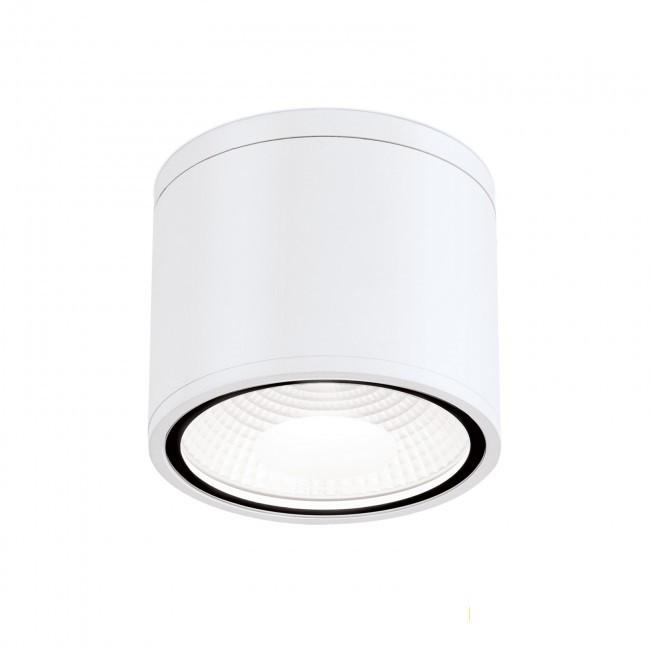 Spot LED aplicat cu protectie la umiditate IP65, SPUTNIK 14,5cm, alb, Plafoniere exterior⭐ lampi de iluminat exterior rustice, clasice, moderne pentru terasa casa.✅Design cu LED decorativ 2021!❤️Promotii online❗ Magazin➽www.evalight.ro. Alege oferte la corpuri de iluminat exterior rezistente la apa, tip aplice si spoturi aplicate pt tavan sau perete, solare cu senzori de miscare, metalice, abajur din sticla cu decor ornamental, ieftine si de lux, calitate deosebita la cel mai bun pret. a