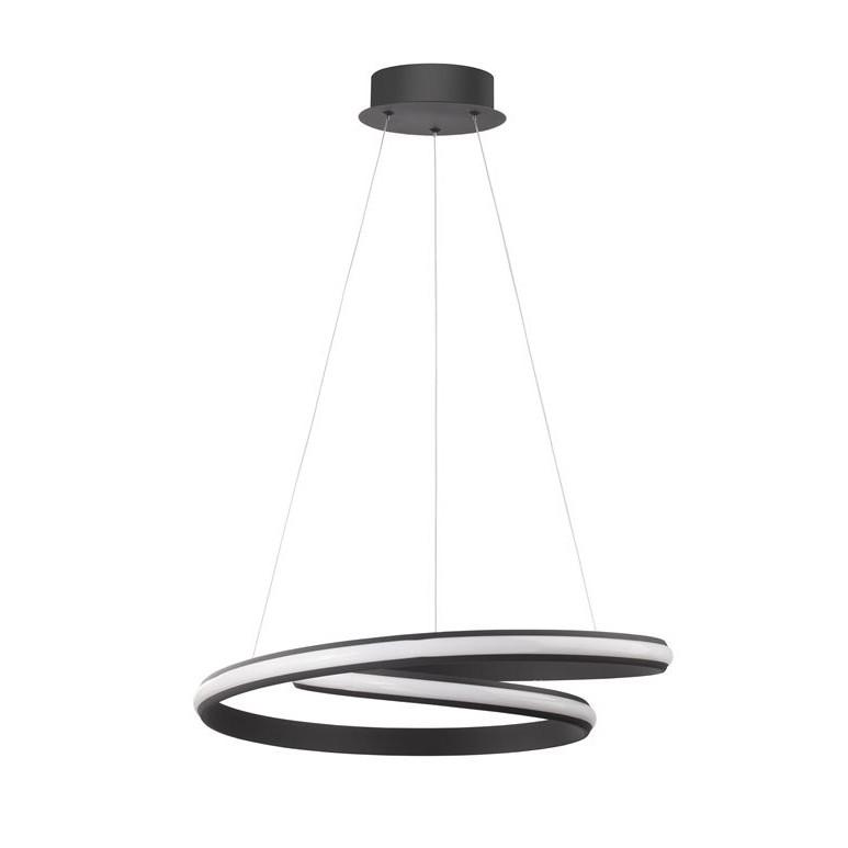 Lustra suspendata LED design modern Malvi, negru NVL-9357041, Cele mai noi produse 2021 a