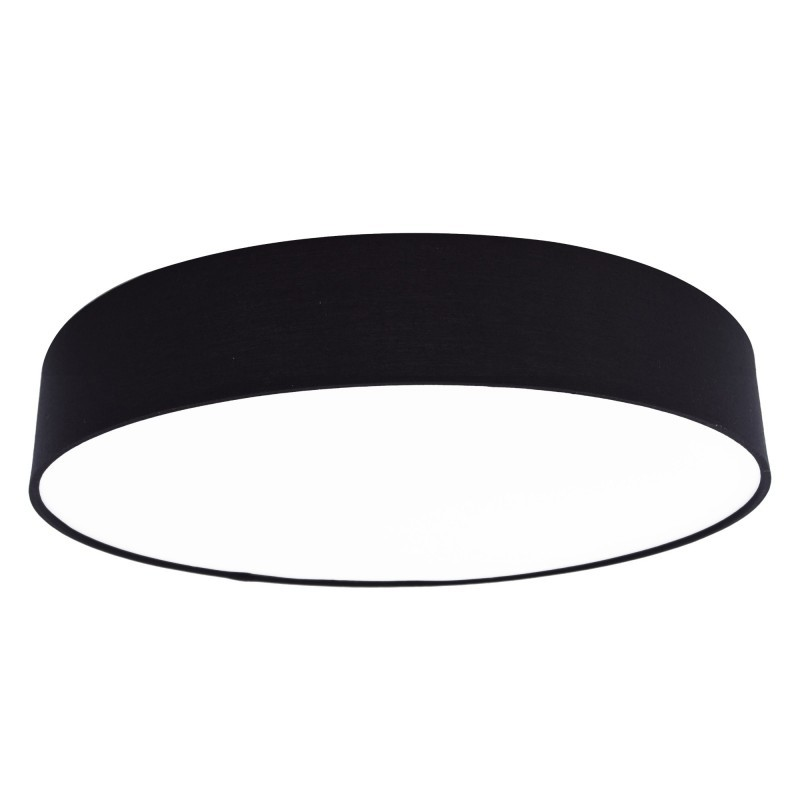 Plafoniera LED moderna design slim MOON negru 55W, Cele mai noi produse 2021 a