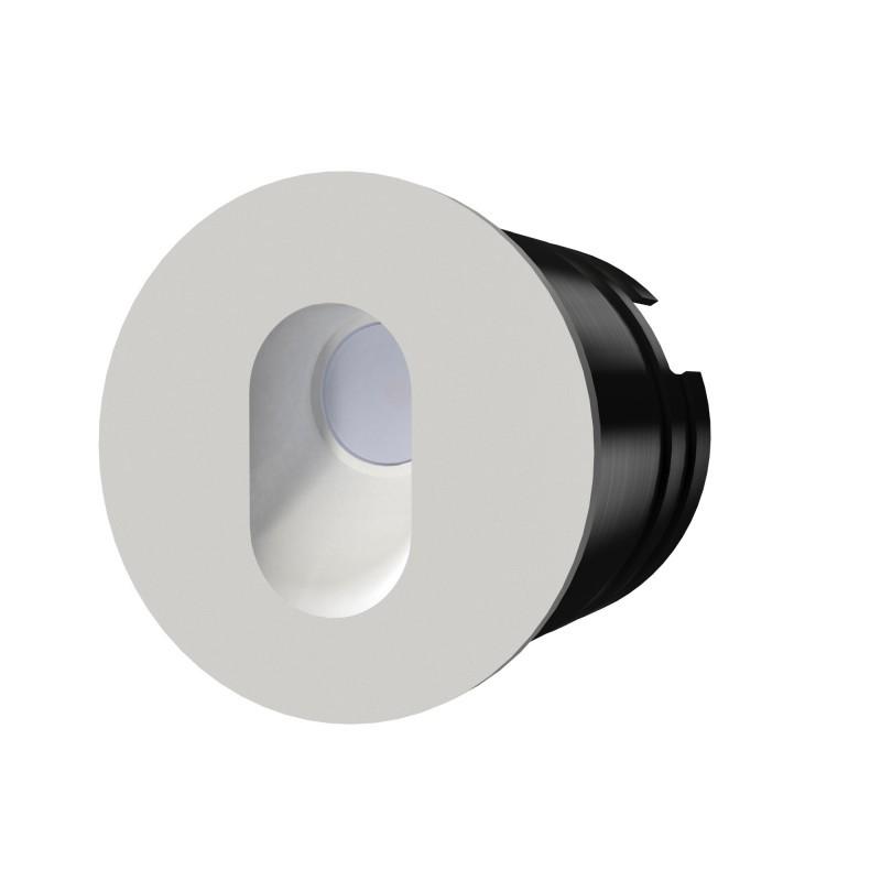 Spot LED incastrabil scari / perete exterior BELY alb 3W 3000K, Spoturi incastrate exterior LED⭐ modele de tip spot potrivite pentru iluminare terasa, gradina, curte, casa. ✅ Design actual 2021!❤️Promotii lampi incastrate de exterior❗ ➽ www.evalight.ro. Alege oferte la corpuri de iluminat exterior incastrat rezistente la apa, directionabile cu lumina ambientala reglabila, montate in perete, tavan, ingropate in pavaj si pardoseala si pamant, scari si trepte beton, forme (rotunde si patrate,), ieftine de calitate la cel mai bun pret. a