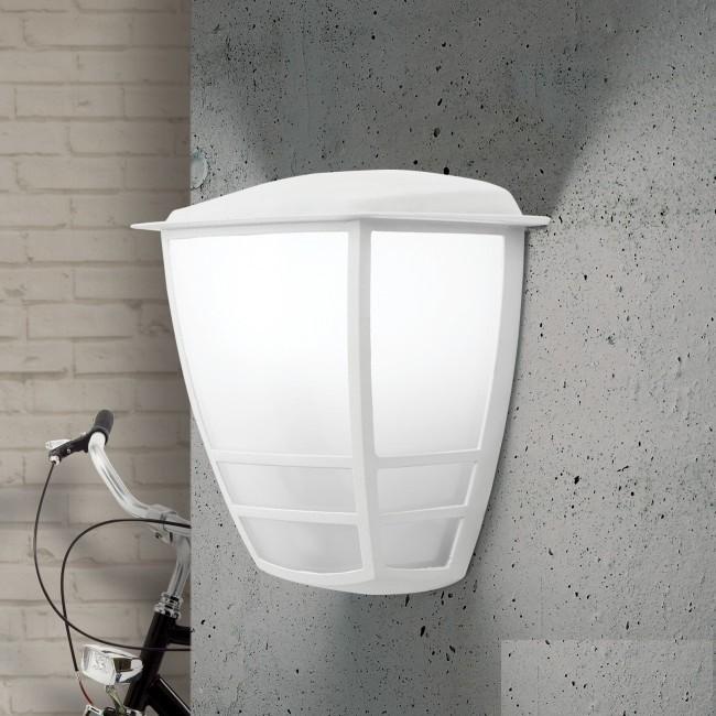 Aplica de perete exterior, protectie IP44, Lift alb, Aplice de exterior clasice, rustice, traditionale⭐ lampi de perete pentru iluminat exterior terasa casa.✅Design decorativ 2021!❤️Promotii online❗ Magazin➽www.evalight.ro. Alege oferte la corpuri de iluminat exterior rezistente la apa tip felinar din metal antichizat, abajur din sticla cu decor ornamental, bec LED si lumina ambientala, ieftine si de lux, calitate deosebita la cel mai bun pret. a
