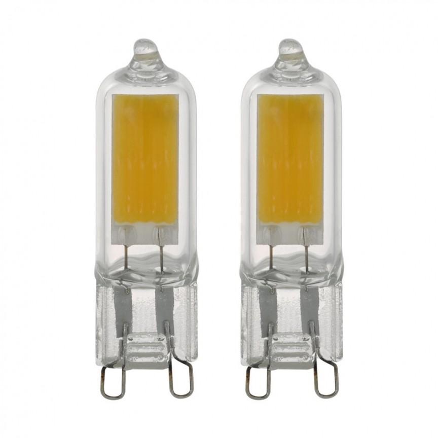 Set becuri LED G9 2X2W 11677 EL, Becuri G9 / G4 / halogen R7s LED pentru iluminat interior si exterior.⭐Cumpara online si ai livrare Acasa.✅Modele de becuri puternice cu halogen si economice cu LED.❤️Promotii la becuri cu soclu de tip G9 / G4 / R7s❗ Alege oferte speciale la becuri cu dulie potrivite la corpurile de iluminat pentru casa, baie, birou, restaurant, spatii comerciale❗ Cele mai bune becuri si surse de iluminat cu consum redus de energie, (ceramica, sticla, plastic, aluminiu), cu LED dimabile cu lumina calda (3000K), lumina rece alba (6500K) si lumina neutra (4000K), lumina naturala, proiectoare si reflectoare cu spot-uri reglabile cu flux luminos directionabil, cu forma liniara, cu lumeni multi, bec LED echivalent 35W / 50W / 100W / 120W / 150 (Watt) tensinea curentului electric este de 12V fata de 220V (Volti), durata mare de viata, becuri cu lumina puternica (luminozitate mare) ce consumă mai putina energie electrica, rezistente la caldura si la apa, ieftine si de lux, cu garantie si de calitate deosebita la cel mai bun pret❗ a