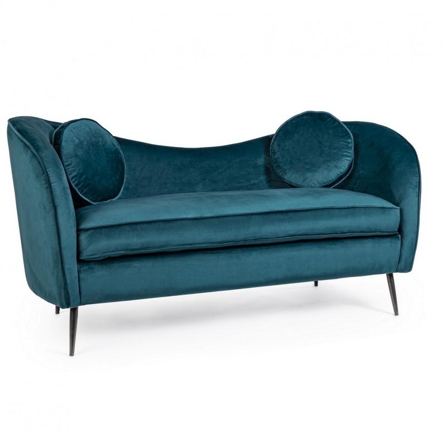 Canapea fixa 2 locuri design modern CANDIS DEEP 0743699 BZ, Cele mai noi produse 2021 a