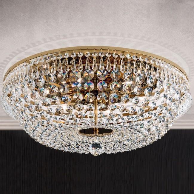 Lustra aplicata cristal Schöler design de lux Sheraton 55cm, 24K gold plated, Cele mai noi produse 2021 a