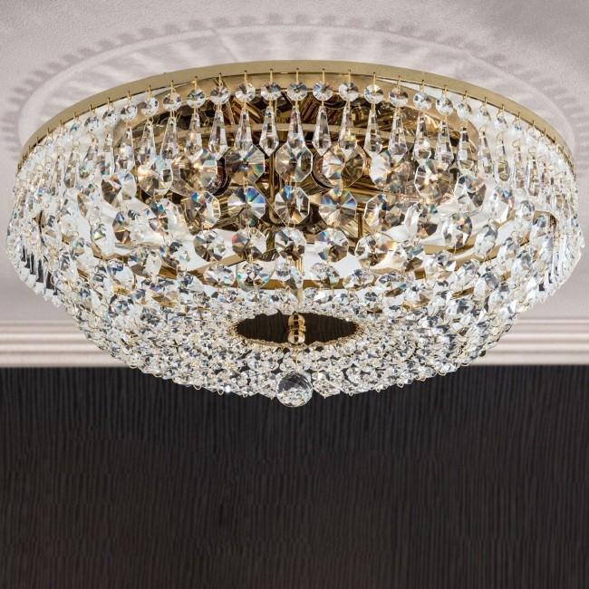 Lustra aplicata cristal Schöler design de lux Sheraton 45cm, 24K gold plated, Cele mai noi produse 2021 a