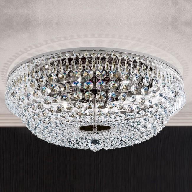Lustra aplicata cristal Schöler design de lux Sheraton 55cm, chrome, Cele mai noi produse 2021 a
