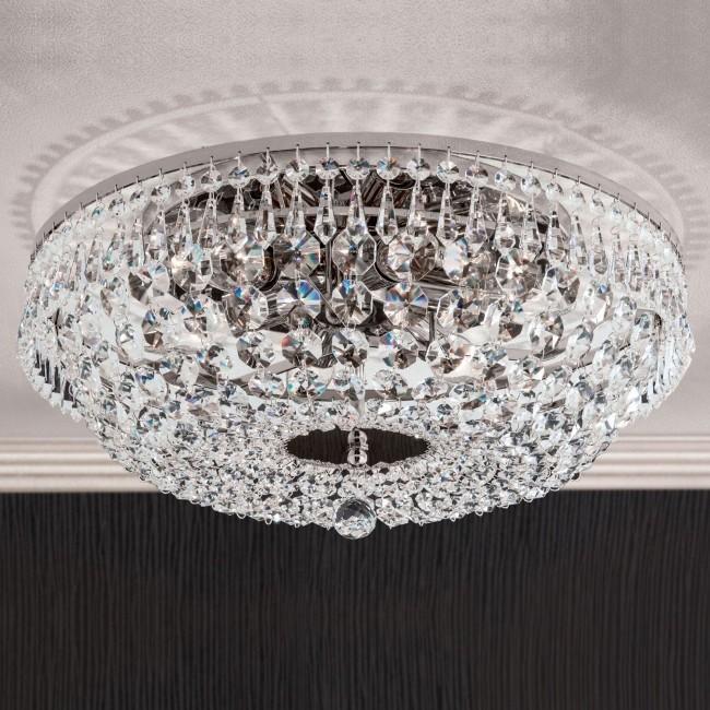Lustra aplicata cristal Schöler design de lux Sheraton 45cm, chrome, Cele mai noi produse 2021 a
