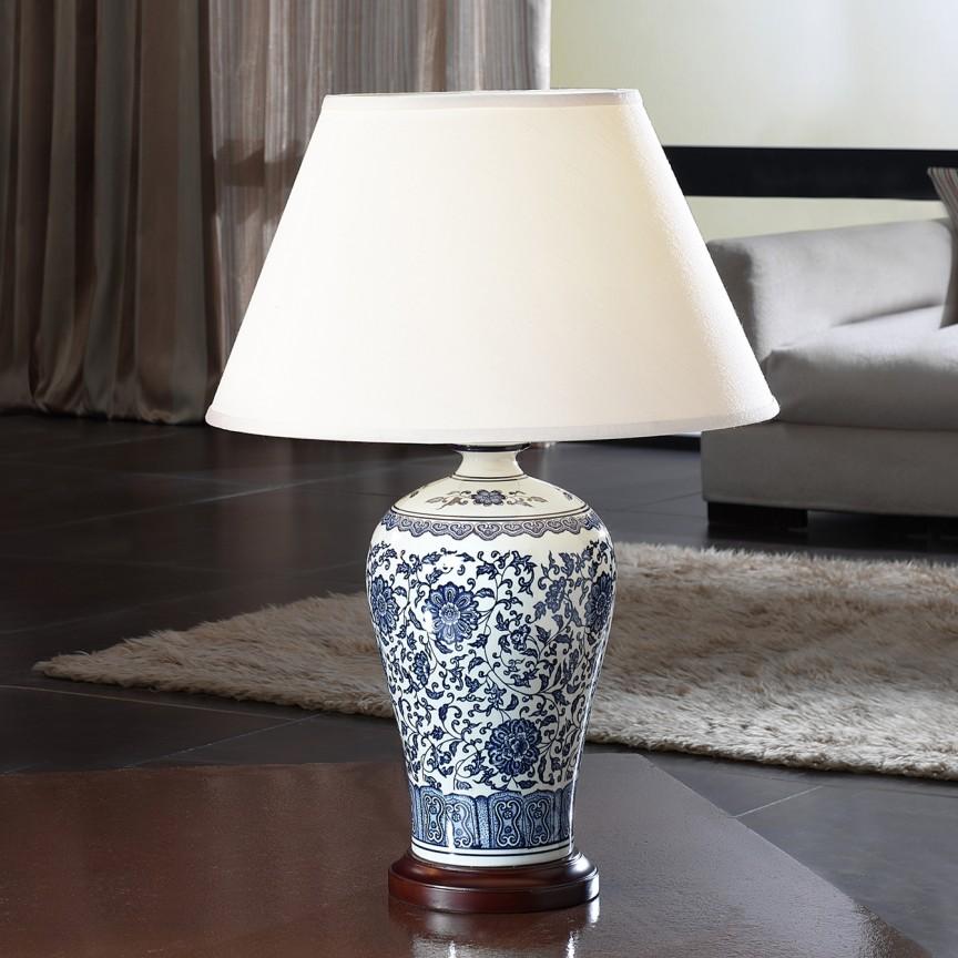 Veioza ceramica/ Lampa de masa eleganta Alcora SV-660810, Cele mai noi produse 2021 a