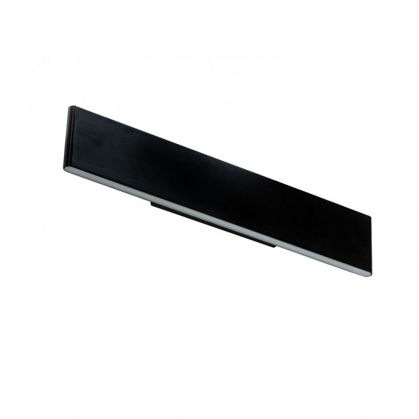 Aplica LED moderna design minimalist NORMAN black L, Cele mai noi produse 2021 a