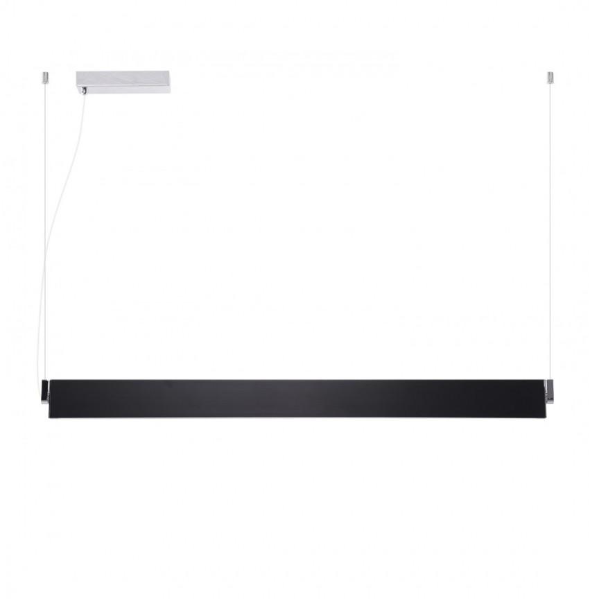 Lustra LED moderna design minimalist NORMAN BLACK XL, Cele mai noi produse 2021 a