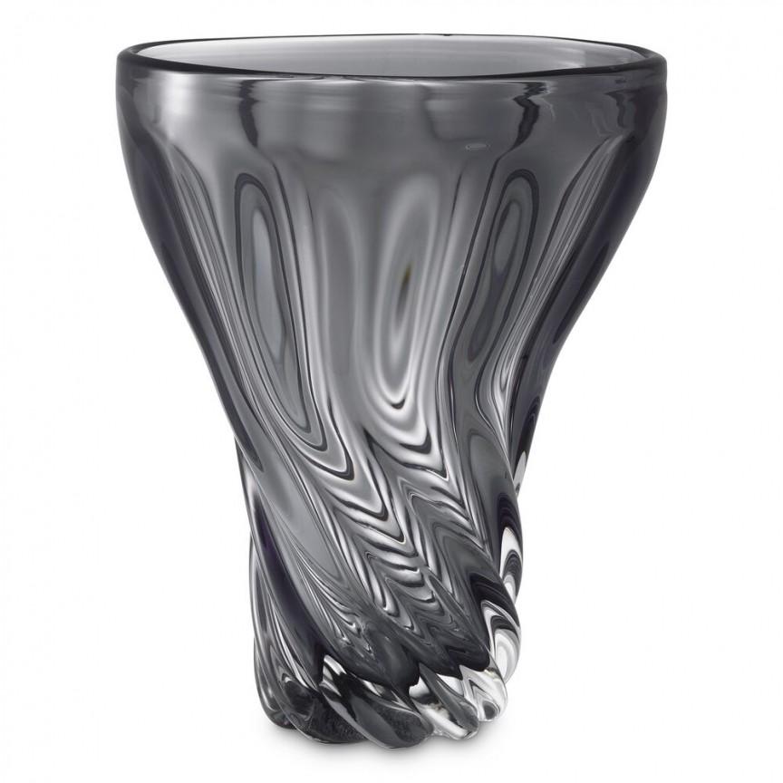 Vaza flori, Vas decorativ Angelia, gri 115414 HZ, Cele mai noi produse 2021 a