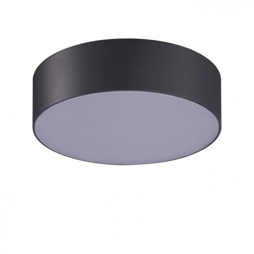 Plafoniera LED pentru exterior IP54 CASPER ROUND 3000K DGR, Plafoniere exterior⭐ lampi de iluminat exterior rustice, clasice, moderne pentru terasa casa.✅Design cu LED decorativ 2021!❤️Promotii online❗ Magazin➽www.evalight.ro. Alege oferte la corpuri de iluminat exterior rezistente la apa, tip aplice si spoturi aplicate pt tavan sau perete, solare cu senzori de miscare, metalice, abajur din sticla cu decor ornamental, ieftine si de lux, calitate deosebita la cel mai bun pret. a
