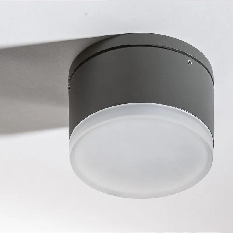 Spot LED aplicat pentru exterior IP54 APULIA R DGR, Plafoniere exterior⭐ lampi de iluminat exterior rustice, clasice, moderne pentru terasa casa.✅Design cu LED decorativ 2021!❤️Promotii online❗ Magazin➽www.evalight.ro. Alege oferte la corpuri de iluminat exterior rezistente la apa, tip aplice si spoturi aplicate pt tavan sau perete, solare cu senzori de miscare, metalice, abajur din sticla cu decor ornamental, ieftine si de lux, calitate deosebita la cel mai bun pret. a