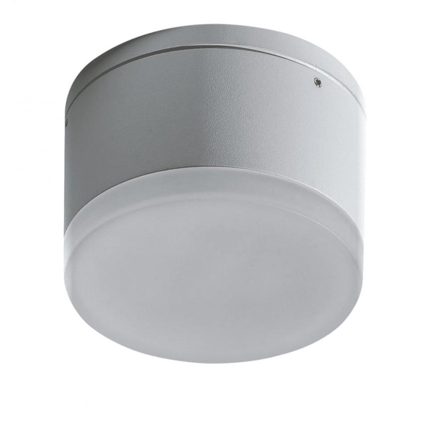 Spot LED aplicat pentru exterior IP54 APULIA R WH, Plafoniere exterior⭐ lampi de iluminat exterior rustice, clasice, moderne pentru terasa casa.✅Design cu LED decorativ 2021!❤️Promotii online❗ Magazin➽www.evalight.ro. Alege oferte la corpuri de iluminat exterior rezistente la apa, tip aplice si spoturi aplicate pt tavan sau perete, solare cu senzori de miscare, metalice, abajur din sticla cu decor ornamental, ieftine si de lux, calitate deosebita la cel mai bun pret. a