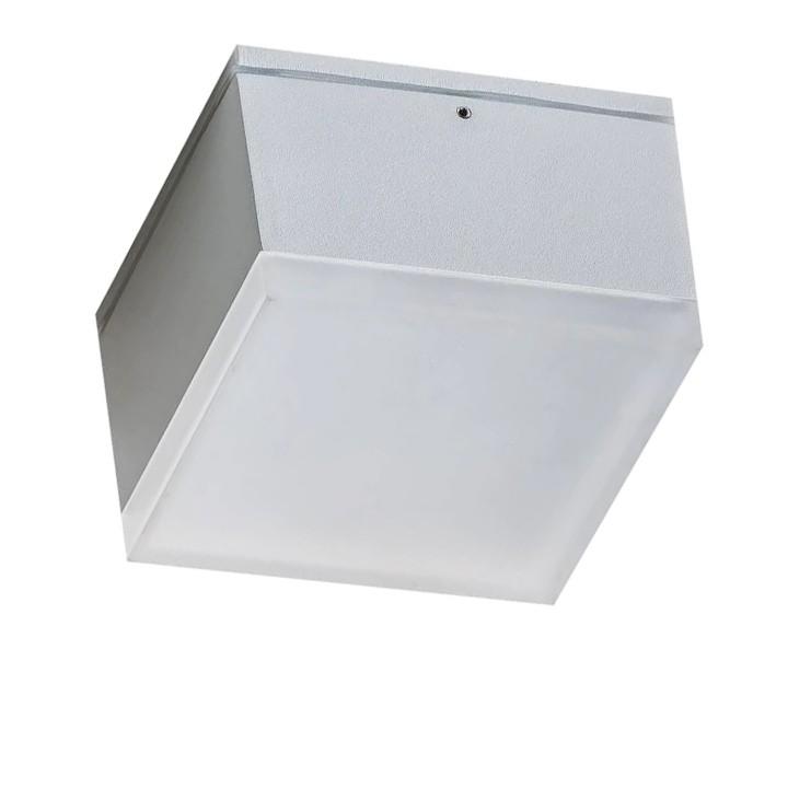 Spot LED aplicat pentru exterior IP54 APULIA S WH, Plafoniere exterior⭐ lampi de iluminat exterior rustice, clasice, moderne pentru terasa casa.✅Design cu LED decorativ 2021!❤️Promotii online❗ Magazin➽www.evalight.ro. Alege oferte la corpuri de iluminat exterior rezistente la apa, tip aplice si spoturi aplicate pt tavan sau perete, solare cu senzori de miscare, metalice, abajur din sticla cu decor ornamental, ieftine si de lux, calitate deosebita la cel mai bun pret. a