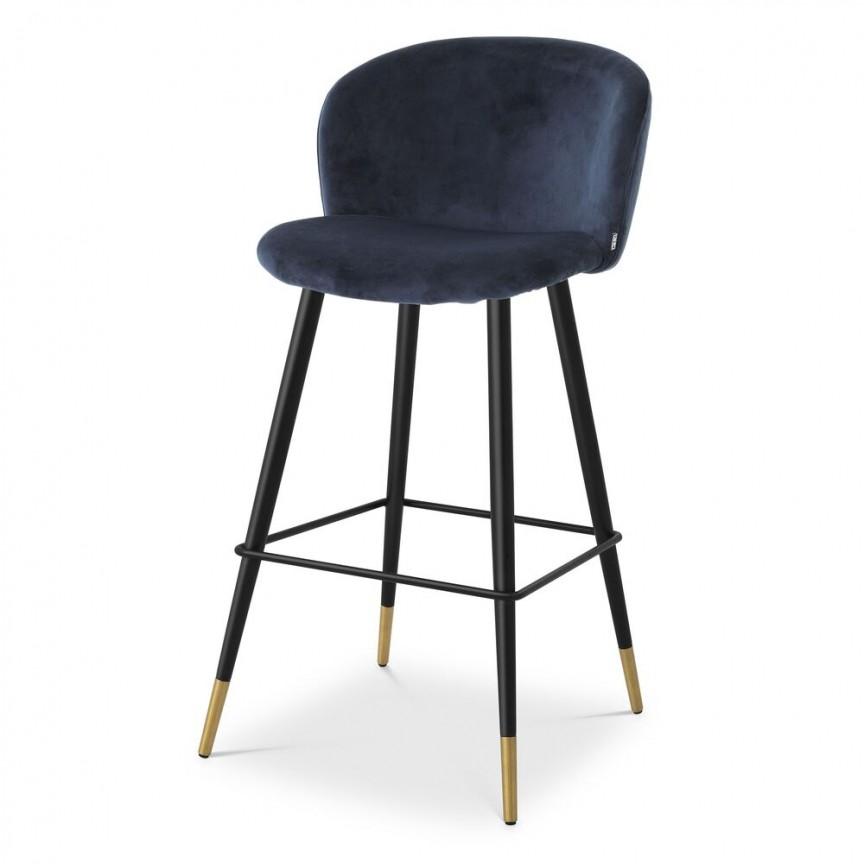 Scaun de bar design elegant LUX Volante, albastru 115734 HZ, Scaune de bar inalte⭐ modele moderne reglabile pe inaltime din lemn sau metal pentru bar bucatarie, mese cafenea.❤️Promotii scaune de bar❗ Intra si vezi poze ➽ www.evalight.ro. ➽ sursa ta de inspiratie online❗ ✅Design de lux original premium actual Top 2020❗ Alege scaunele de bar potrivite pt pult casa si mobilier dining si restaurant HoReCa, stil vintage (retro si industriale), tip taburete, rotative, rezistente, cu sejut din plastic sau tapitate cu catifea, piele naturala (ecologica), din material textil, cu spatar si brate, picioare lemn, metalice cu rotile, pivotante cu piston, cu roti, pliabile, intra ➽vezi oferte si reduceri cu vanzare rapida din stoc, ieftine si de calitate deosebita la cel mai bun pret. a
