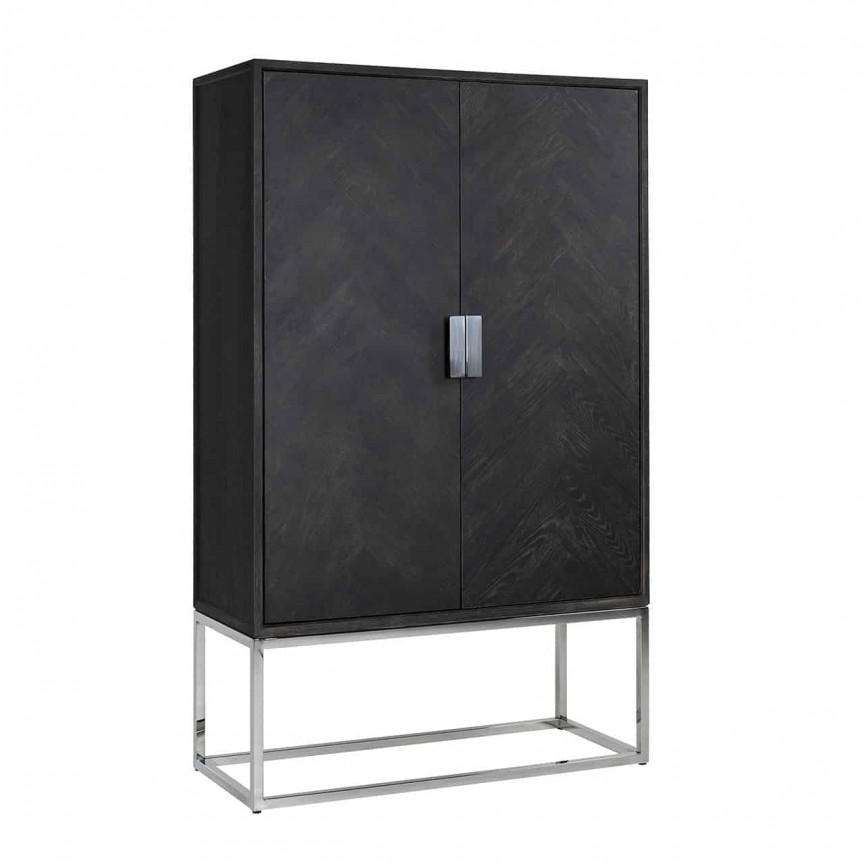 Dulap modern design LUX Blackbone silver 2-doors, Promotii si Reduceri⭐ Oferte ✅Corpuri de iluminat ✅Lustre ✅Mobila ✅Decoratiuni de interior si exterior.⭕Pret redus online➜Lichidari de stoc❗ Magazin ➽ www.evalight.ro. a