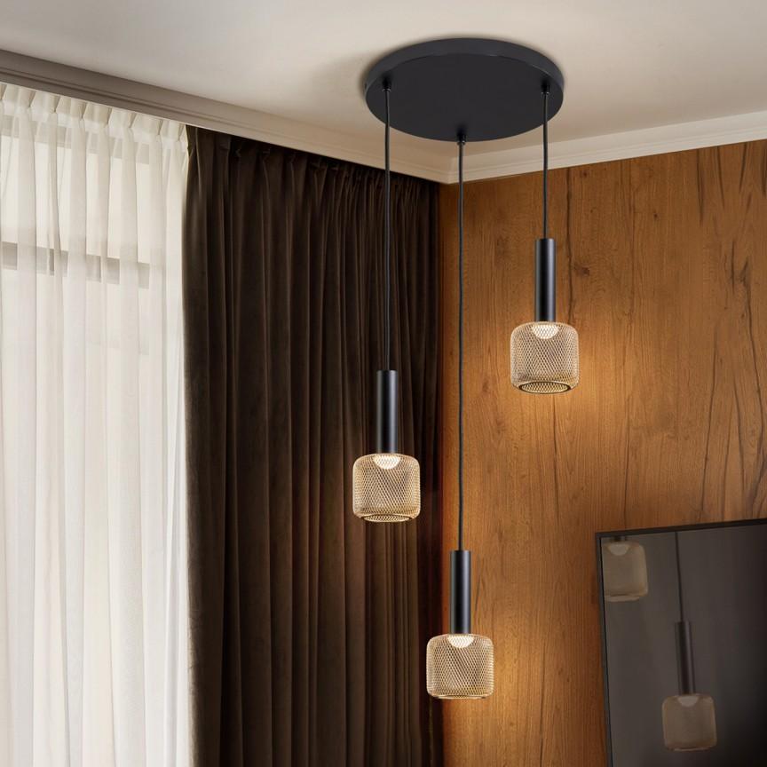 Lustra LED suspendata design modern Sincro 3L, Cele mai noi produse 2021 a