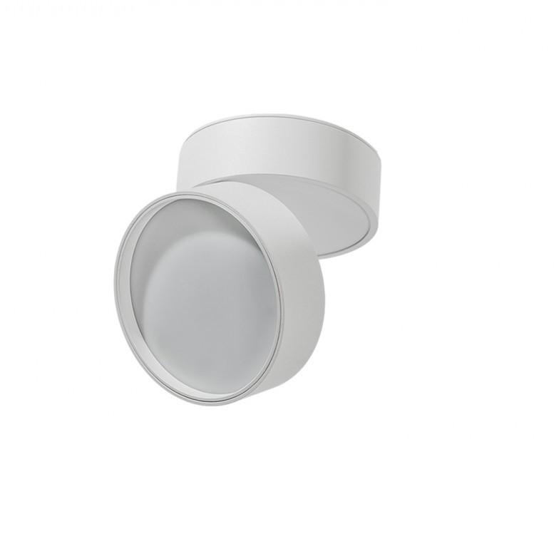 Spot LED aplicat directionabil de tavan/plafon MONA 12W 3000K alb, Cele mai noi produse 2021 a