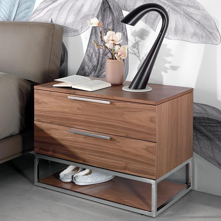 Noptiera cu 2 sertare design elegant Gladys, Cele mai noi produse 2021 a