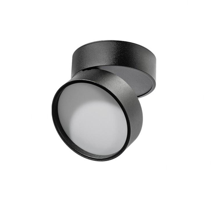 Spot LED aplicat directionabil de tavan/plafon MONA 12W 3000K negru, Cele mai noi produse 2021 a