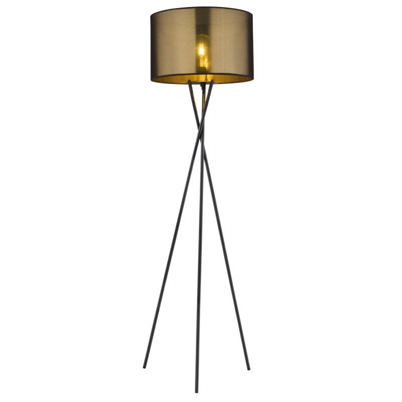 Lampadar, lampa de podea cu trepied design modern NUGGY auriu 15583S GL, Cele mai noi produse 2021 a