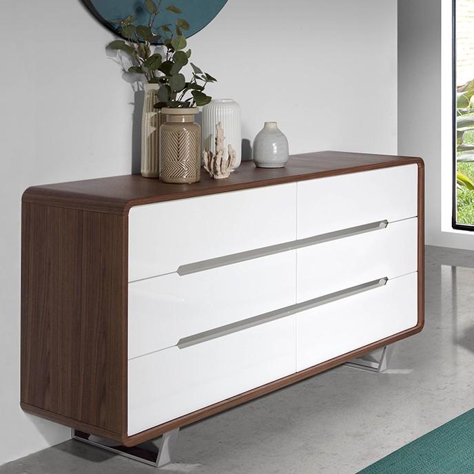 Comoda cu 6 sertare design elegant Bonni, Cele mai noi produse 2021 a