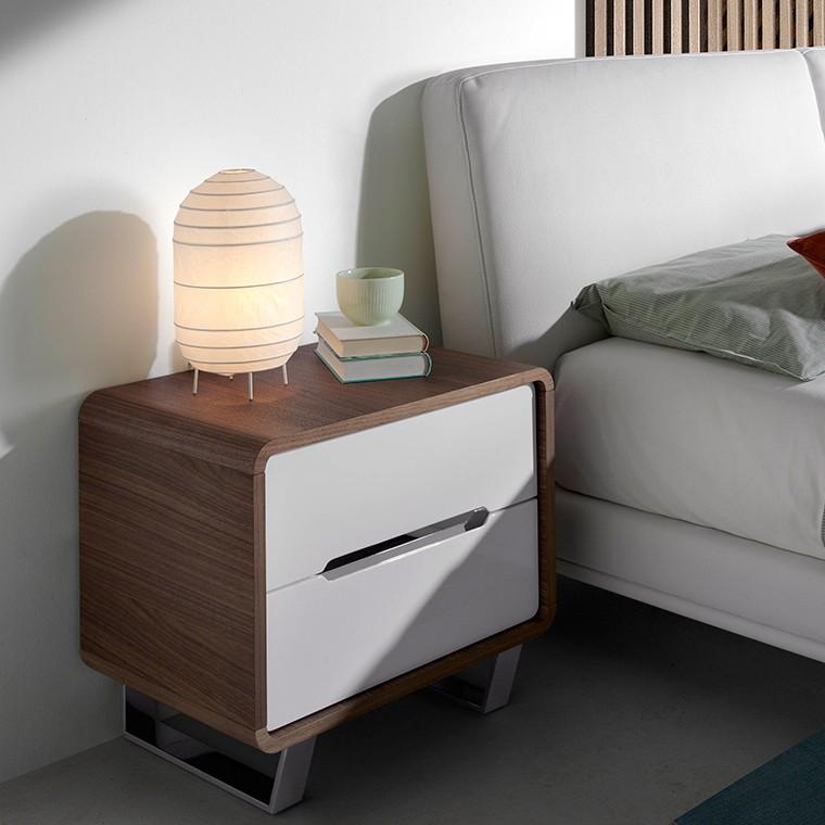 Noptiera cu 2 sertare design elegant Bonni, Cele mai noi produse 2021 a
