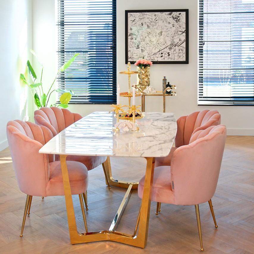 Masa dining moderna design LUX Dynasty 200x100cm, Promotii si Reduceri⭐ Oferte ✅Corpuri de iluminat ✅Lustre ✅Mobila ✅Decoratiuni de interior si exterior.⭕Pret redus online➜Lichidari de stoc❗ Magazin ➽ www.evalight.ro. a