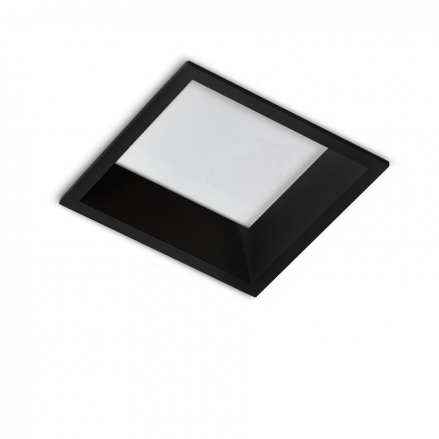 Spot LED incastrabil tavan/plafon AIDA SQUARE 16W negru, Cele mai noi produse 2021 a