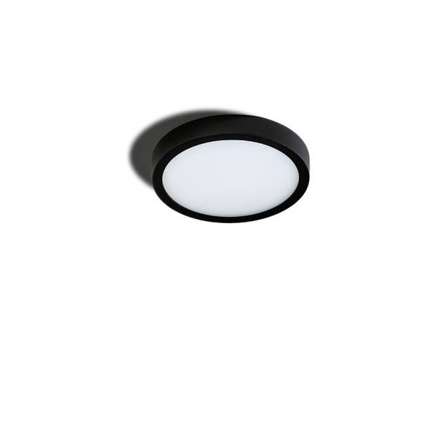 Mini Plafoniera LED design slim MALTA R 18 4000K neagra, Cele mai noi produse 2021 a