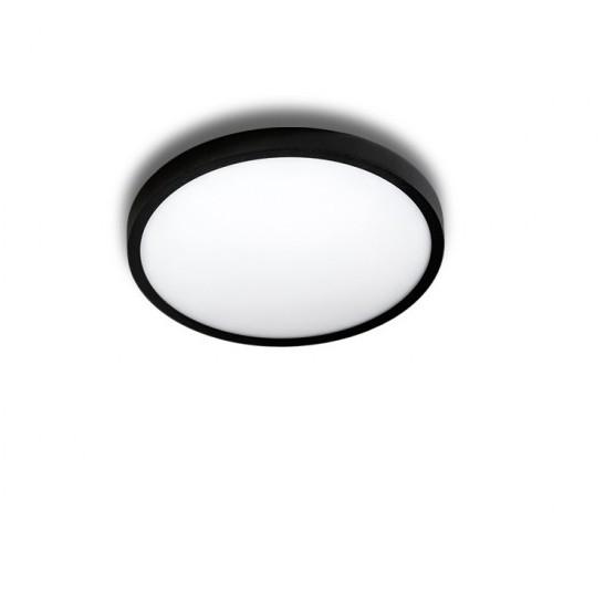Mini Plafoniera LED design slim MALTA R 23 3000K neagra, Cele mai noi produse 2021 a