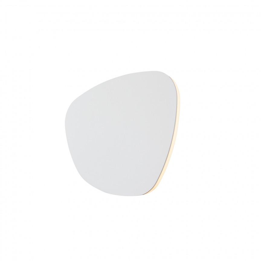 Aplica de perete LED cu lumina ambientala PUZZLE S alb W0299 MX, Cele mai noi produse 2021 a