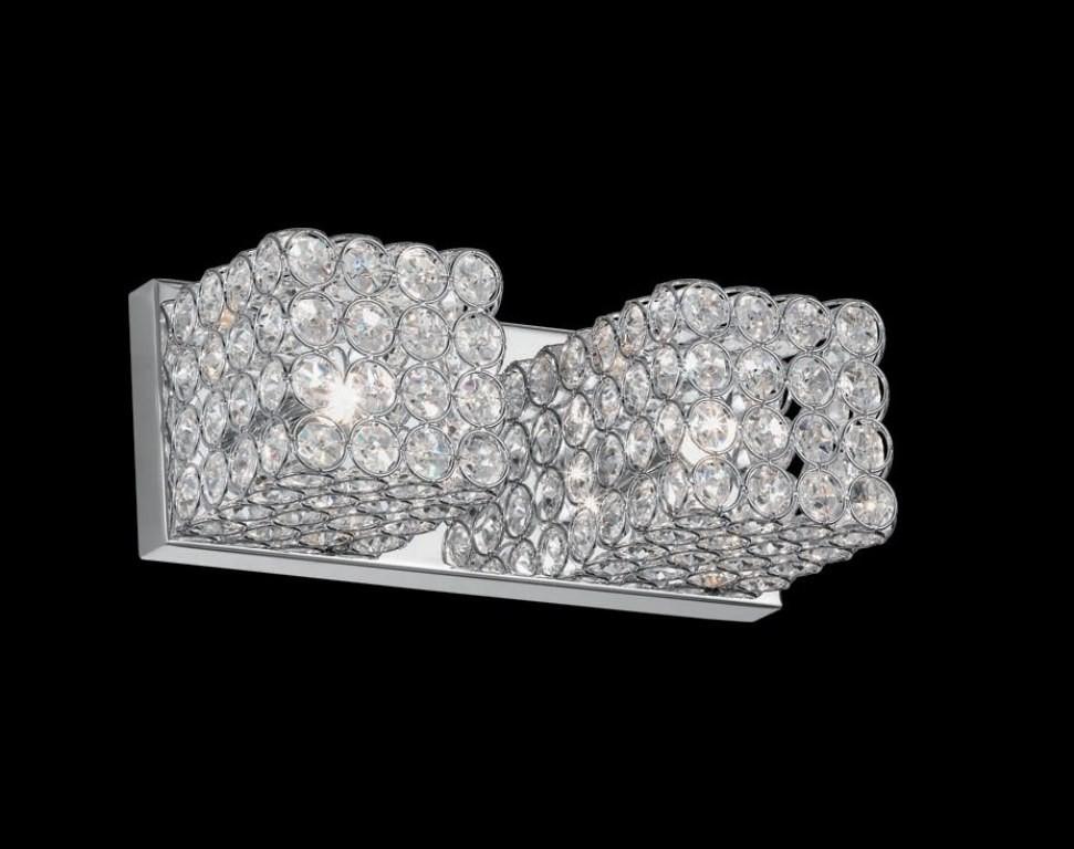 Aplica de perete cristal Venezian ADMIRAL AP2 Cromo, PROMOTII, Corpuri de iluminat, lustre, aplice, veioze, lampadare, plafoniere. Mobilier si decoratiuni, oglinzi, scaune, fotolii. Oferte speciale iluminat interior si exterior. Livram in toata tara.  a