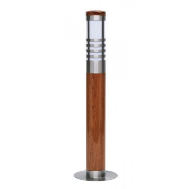 Stalp exterior cu lemn IP23 Logon 42884/20 BL, PROMOTII, Corpuri de iluminat, lustre, aplice a