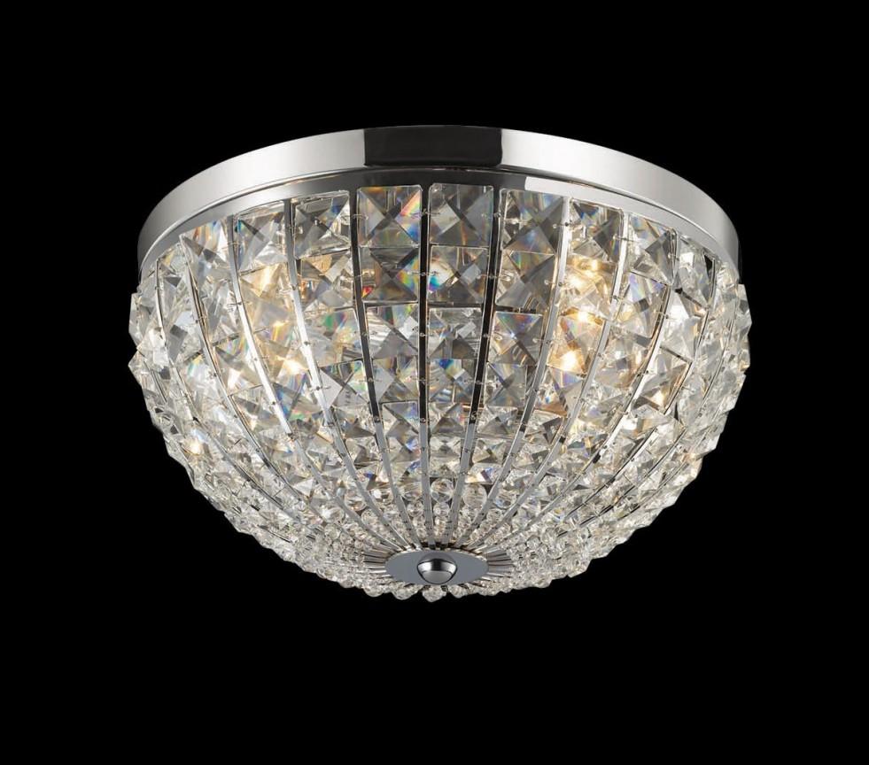 Plafonier cristal Venezian diam. 30 cm CALYPSO PL4 066400,  a