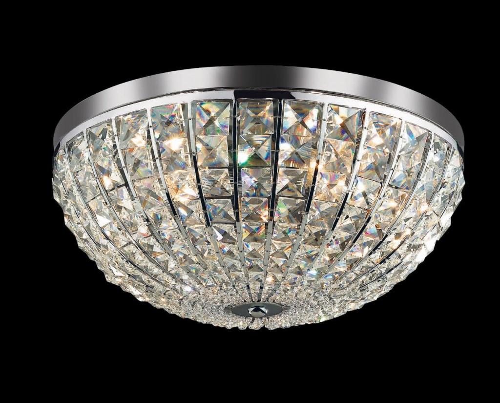 Plafonier cristal Venezian diam. 40 cm CALYPSO PL6 066417, PROMOTII, Corpuri de iluminat, lustre, aplice, veioze, lampadare, plafoniere. Mobilier si decoratiuni, oglinzi, scaune, fotolii. Oferte speciale iluminat interior si exterior. Livram in toata tara.  a