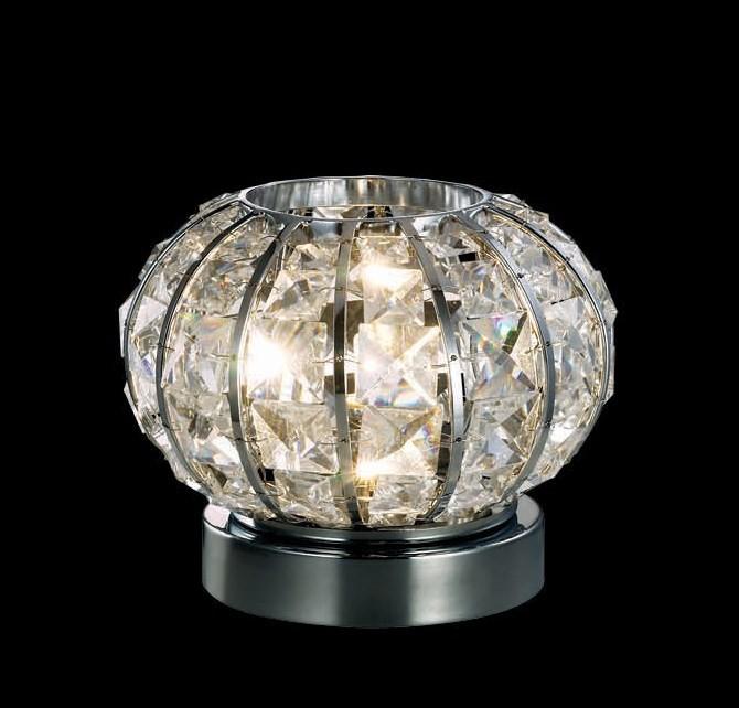 Veioza cu cristale slefuite Calypso TL1 044217, Veioze, Lampi de masa, Corpuri de iluminat, lustre, aplice a