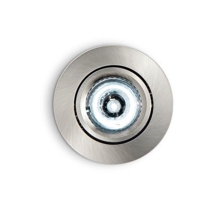 Spot orientabil incastrat diam.6,5cm, LED DELTA FI1 nickel 060958, Spoturi incastrate, aplicate - tavan / perete, Corpuri de iluminat, lustre, aplice a