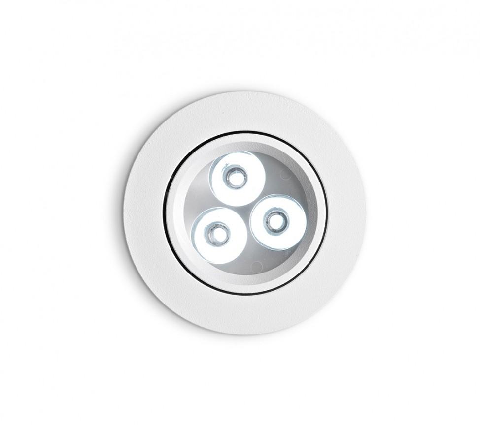 Spot orientabil incastrat diam.8,5cm, LED DELTA FI3 alb 062396, Spoturi LED incastrate, aplicate, Corpuri de iluminat, lustre, aplice a