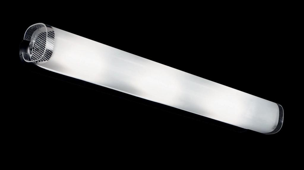 Aplica metal chrome, glass satinat LULU AP3 060798, Aplice pentru baie, oglinda, tablou, Corpuri de iluminat, lustre, aplice, veioze, lampadare, plafoniere. Mobilier si decoratiuni, oglinzi, scaune, fotolii. Oferte speciale iluminat interior si exterior. Livram in toata tara.  a