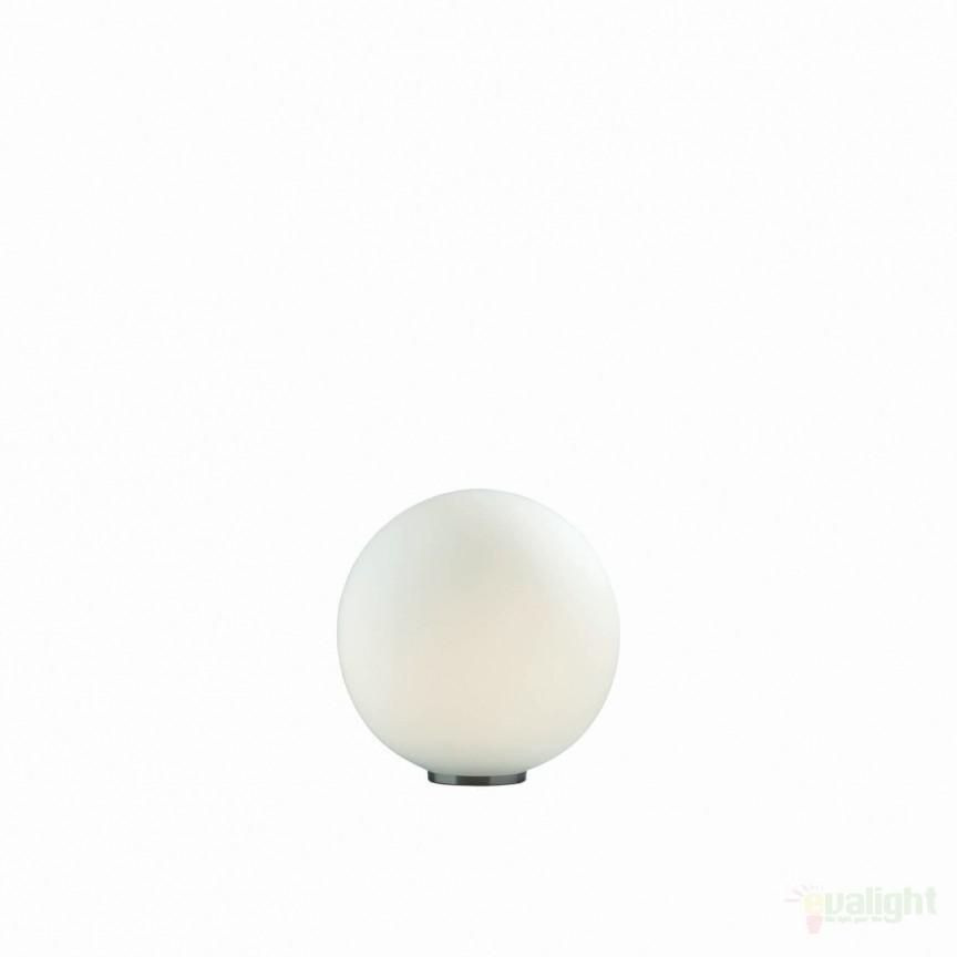 Veioza, lampa de masa glob diametru 20cm MAPA TL1 D20 009155, PROMOTII, Corpuri de iluminat, lustre, aplice, veioze, lampadare, plafoniere. Mobilier si decoratiuni, oglinzi, scaune, fotolii. Oferte speciale iluminat interior si exterior. Livram in toata tara.  a