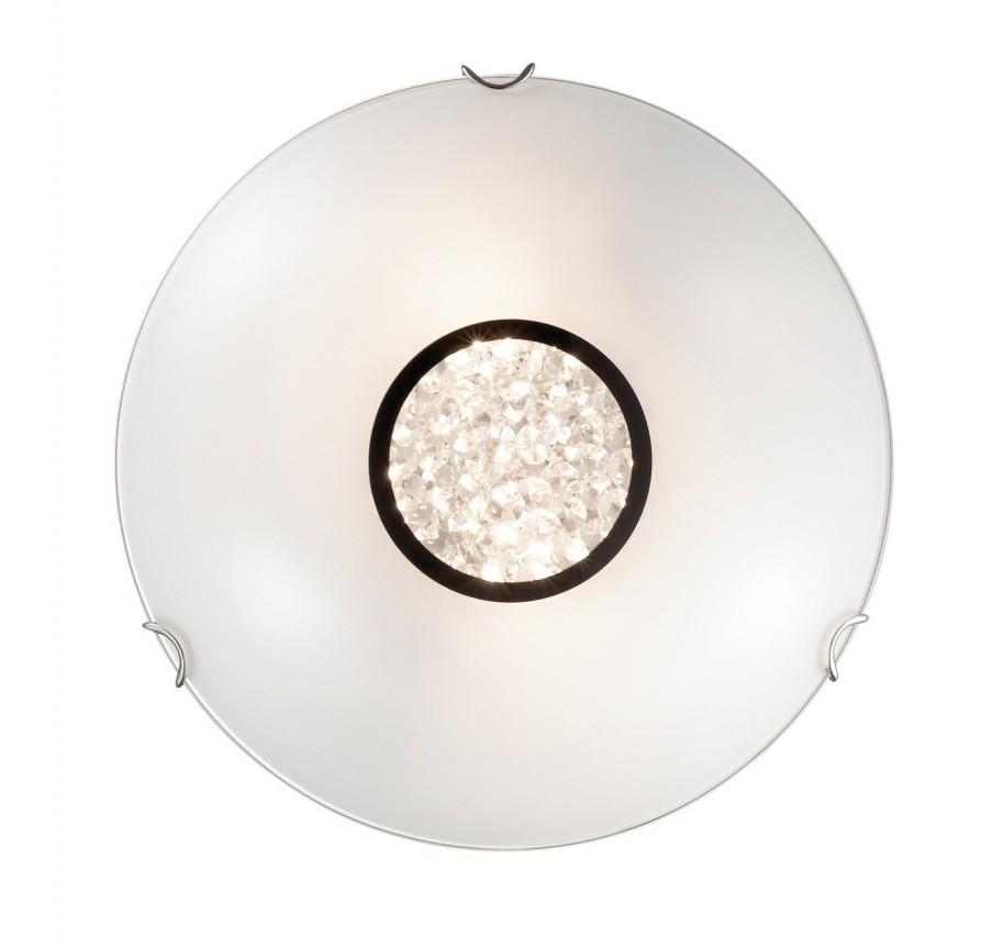 Plafonier cu cristale Venezian diam.30cm OBLO PL2 078939, Outlet,  a