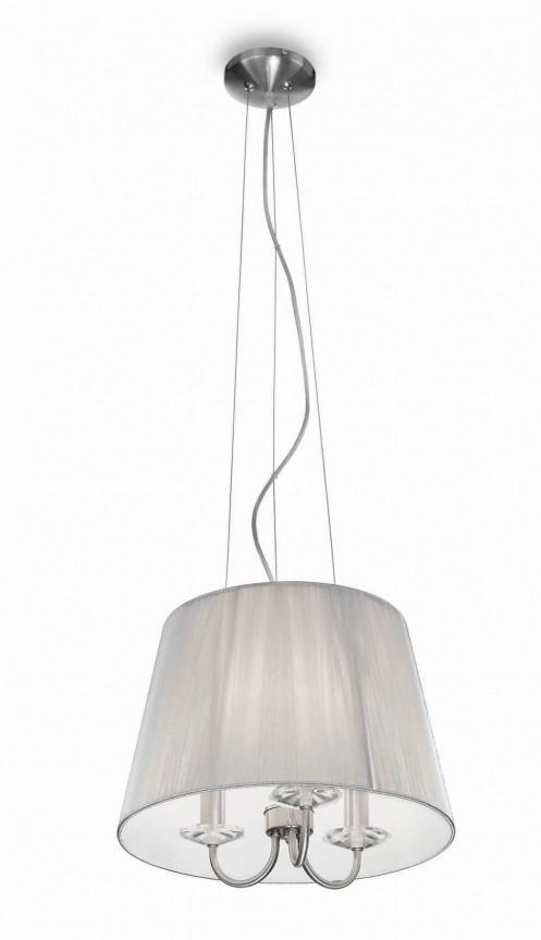 Pendul elegant diametru 42cm PARIS SP3 Argento 018010, Pendule, Lustre suspendate, Corpuri de iluminat, lustre, aplice a